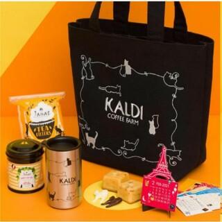 カルディ(KALDI)のカルディ ネコの日バッグ 2種セット 2021 KALDI 猫の日バッ(トートバッグ)