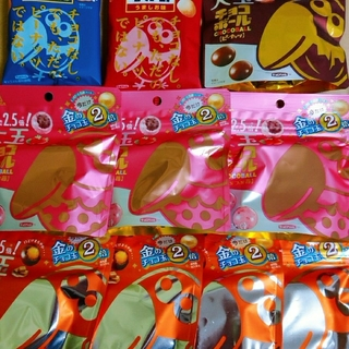 森永製菓 - チョコボール いろいろ 10袋