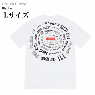 Supreme - Lサイズ 白 Supreme Spiral Tee シュプリーム Tシャツ