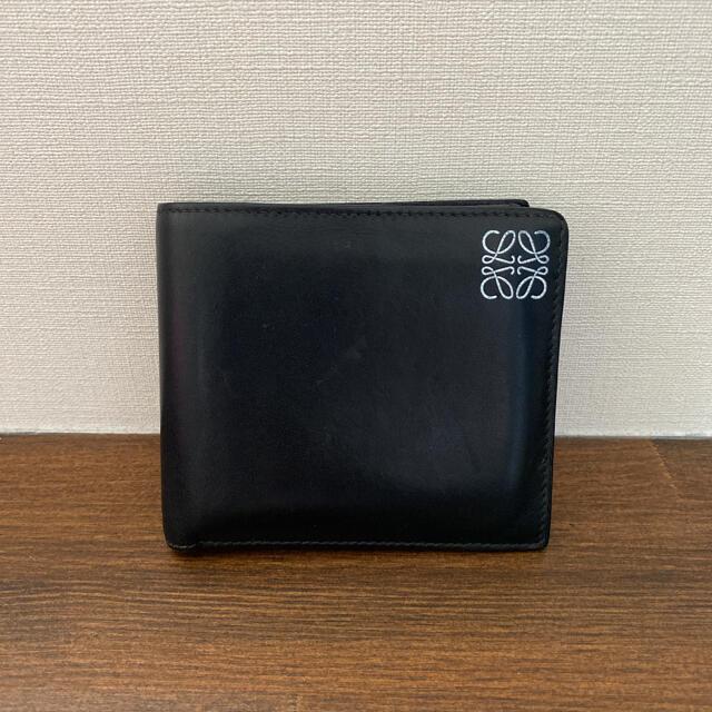 LOEWE(ロエベ)の良品 ロエベ   LOEWE 二つ折り 財布 メンズのファッション小物(折り財布)の商品写真