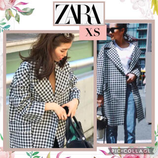 ZARA - 人気♡完売品 ZARA ギンガムチェック コート