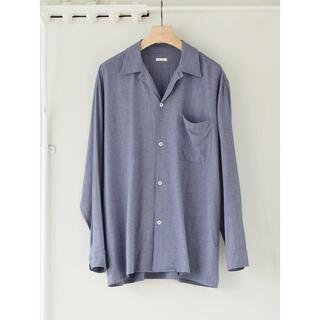 COMOLI - 新品 COMOLI ヴィスコースウール オープンカラーシャツ 3