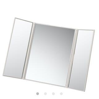 ムジルシリョウヒン(MUJI (無印良品))の無印良品 三面鏡(卓上ミラー)