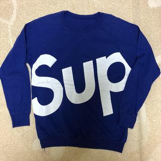 Supreme - シュプリーム  ロンT トレーナー ロゴ