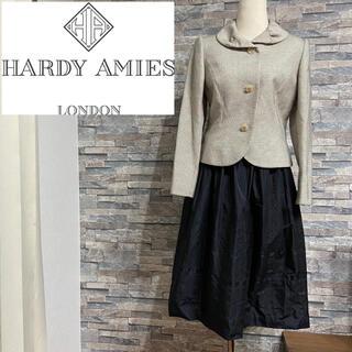 ハーディエイミス(HARDY AMIES)のHARDY AMIES/ハーディ エイミス❤️ジャケット・スカート❤️スーツ(スーツ)