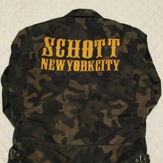 ショット(schott)のショット schott  ナイロン ライダース バイカー MA1(ライダースジャケット)
