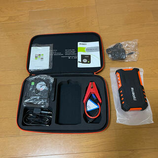 suaoki ジャンプスターター G7plus 18000mAh コンプレッサー