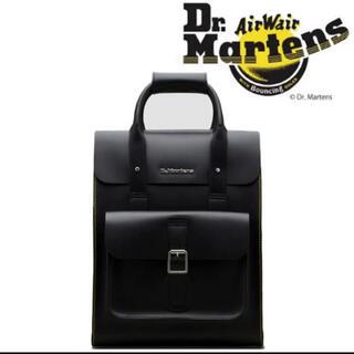 ドクターマーチン(Dr.Martens)のドクターマーチン レザーバックパック Dr.Martens ブラック(バッグパック/リュック)