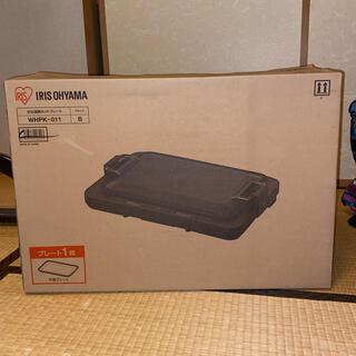 アイリスオーヤマ - 左右温調ホットプレート 1枚プレートWHP-011-Bブラック