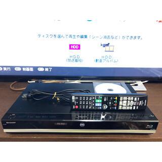 AQUOS - AQUOS BD-W580 W録HDD500GB 専用リモコン付