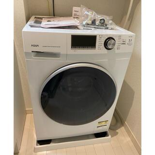 【3月中旬発送】アクア ドラム式洗濯機 AQUA AQW-FV800E(W)