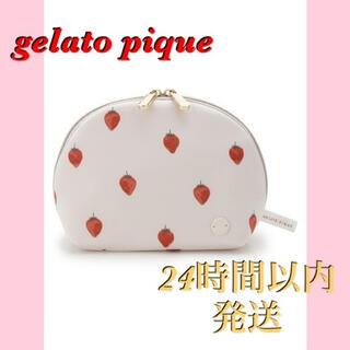 gelato pique - 【新品】ジェラートピケ パリヤ いちごポーチ