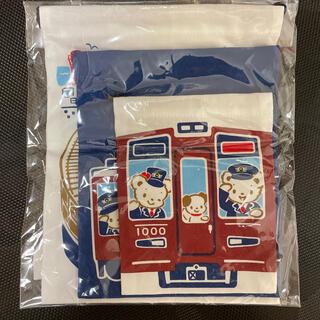 familiar - 阪急とのコラボ巾着3つセット