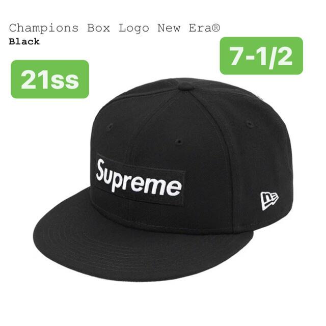 Supreme(シュプリーム)のsupreme Champions Box Logo New Era®7-1/2 メンズの帽子(キャップ)の商品写真