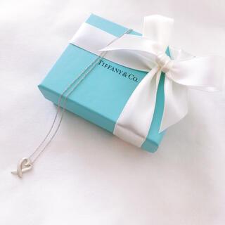 Tiffany & Co. - ティファニー★ラビング ハート ペンダント