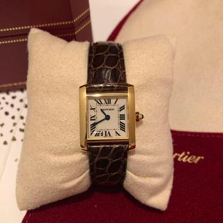 Cartier - カルティエ タンクフランセーズ SM K18YG