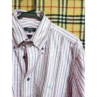 BURBERRY BLACK LABEL - ■未使用に近い ▼ビジネス、カジュアルシャツ