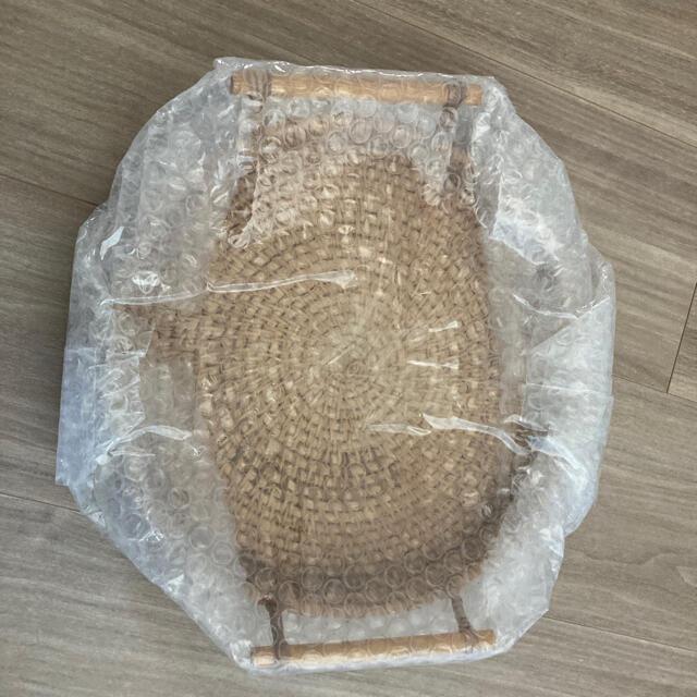 即購入可!大サイズ 24cm  ラタントレイ  韓国インテリア 海外インテリア インテリア/住まい/日用品のキッチン/食器(テーブル用品)の商品写真
