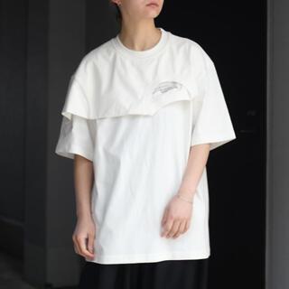 kolor - Feng Chen wang フェンチェンワン レイヤード Tシャツ