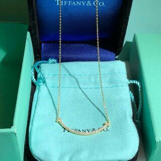 Tiffany & Co. - TIFFANY & Co.ティファニーT スマイル ネックレス