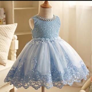 ドレス キッズワンピース パニエ付き120(ドレス/フォーマル)