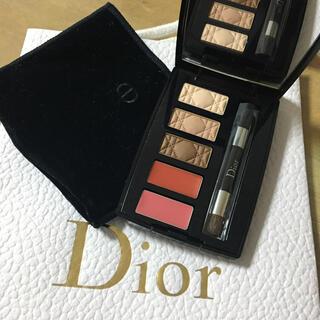 Dior - ディオール ミニメイクアップパレット アン クルール