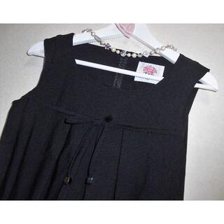 M'S GRACY - 新品 トワレ Toilette リボン付 3 ワンピース 黒 L