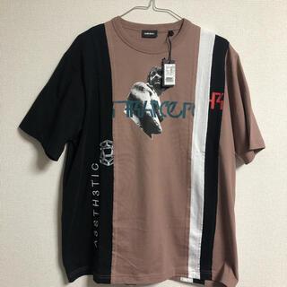DIESEL - 【人気ブランド】未使用 DIESEL ディーゼル 再構築 Tシャツ 半袖 L