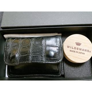 WILDTHINGS - ワイルドスワンズ クロコ 旧ロゴ スワン WILD SWANS