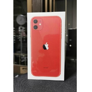 iPhone - 【新品未開封】iPhone11 128G RED レッド SIMフリー
