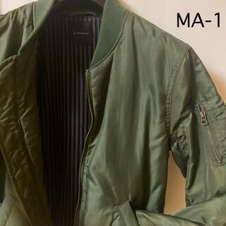 レイジブルー(RAGEBLUE)の美品 MA-1 ブルゾン L ジャケット RAGEBLUE カーキ(ブルゾン)