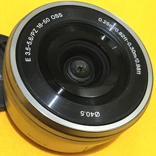 SONY - SONY レンズ E 3.5-5.6 PZ 16-50 OSS SIL ソニー