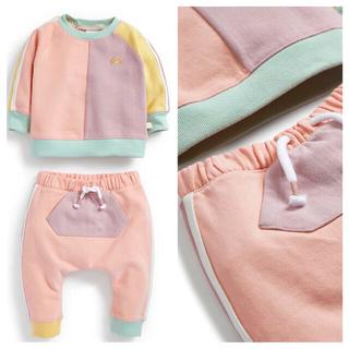 ネクスト(NEXT)の- カラーブロック スウェットシャツ & ジョガーセット (0 か月~2 歳) (トレーナー)
