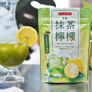 抹茶檸檬 宇治抹茶 レモンティー 100g (茶)