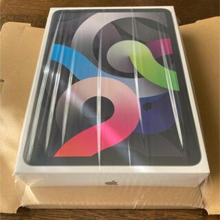 アイパッド(iPad)の新品未開封 iPad Air 4th 10.9 64GB スペースグレイ(タブレット)