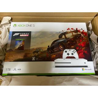 エックスボックス(Xbox)のXbox One S 1 TB 本体 Forza Horizon 4 同梱版(家庭用ゲーム機本体)