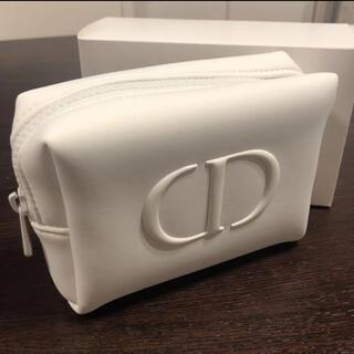 Christian Dior - ディオール 白 ポーチ ノベルティ