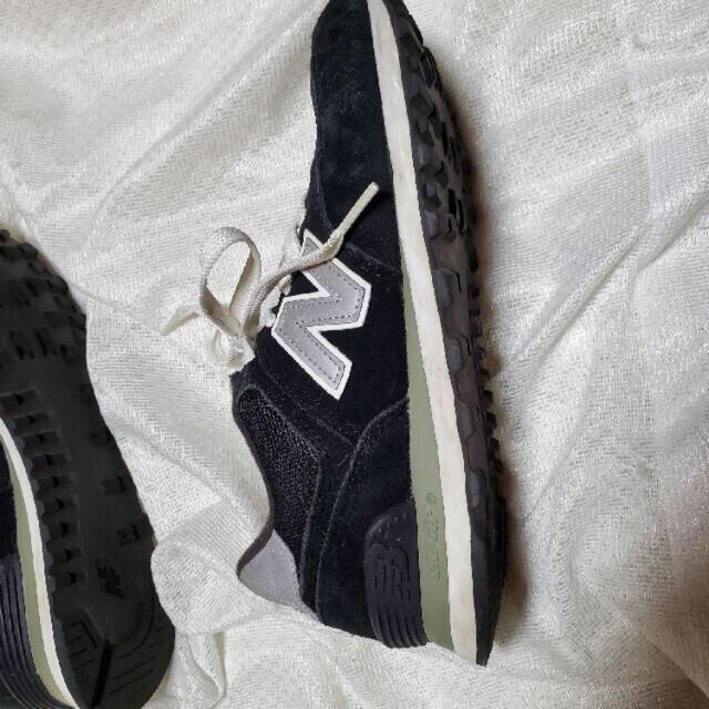 New Balance(ニューバランス)の★ニューバランス★23.5㎝黒スニーカー レディースの靴/シューズ(スニーカー)の商品写真