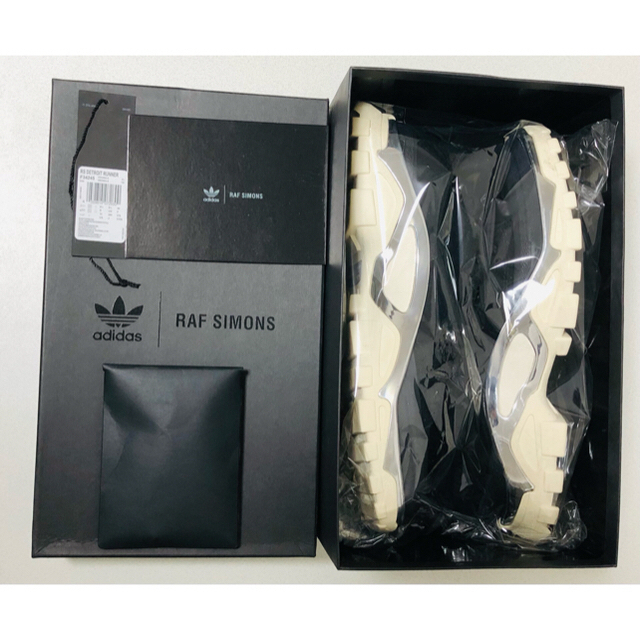 RAF SIMONS(ラフシモンズ)のadidas by RAF SIMONS  デトロイトランナー メンズの靴/シューズ(スニーカー)の商品写真