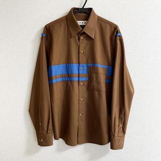 Marni - MARNI 18AW トロピカルウールシャツ