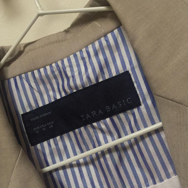 ZARA(ザラ)の▪️ZARA▪️ベージュJK M✨ レディースのジャケット/アウター(テーラードジャケット)の商品写真