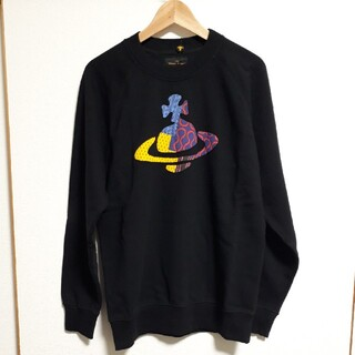 Vivienne Westwood - 新品未使用⭐Vivienne Westwood ロゴスウェット/Black