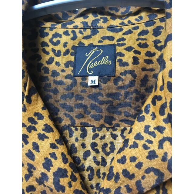 Needles(ニードルス)のニードルス レオパード開襟シャツ メンズのトップス(シャツ)の商品写真