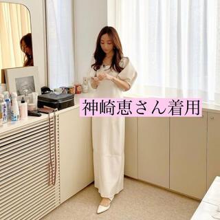 FRAY I.D - 🖤神崎恵さん着用完売! styling/ スクエアネックドッキングワンピース