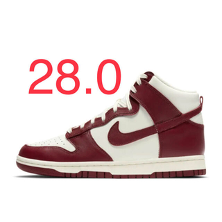 "NIKE - 【28.0】NIKE WMNS DUNK HIGH ""TEAM RED"""