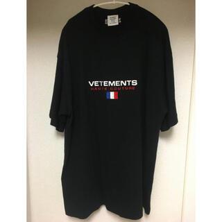 Balenciaga - vetements ヴェトモン 18ss オートクチュール 刺繍ロゴ tシャツ