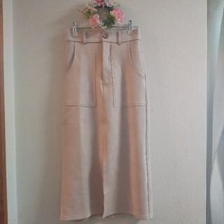 フィフス(fifth)の新品fifthスウェードタッチスカート(ひざ丈スカート)
