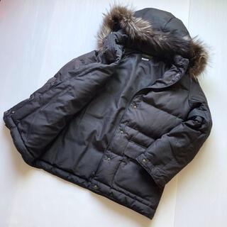 イエナ(IENA)のイエナ ショート ダウンジャケット サイズ36 ブラック フォックスファー(ダウンジャケット)
