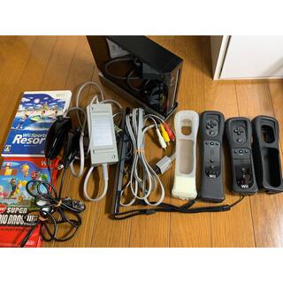 Wii - 任天堂Wii+ソフト2点!
