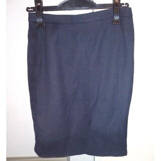 CHANEL - シャネル タイトスカート 紺色